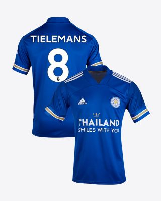 Youri Tielemans - Leicester City TSWY Home Shirt 2020/21 - Kids