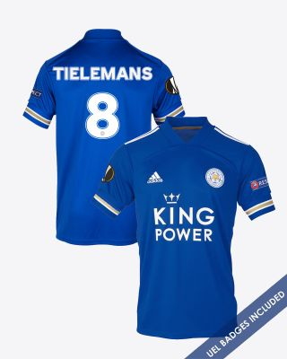 Youri Tielemans - Leicester City King Power Home Shirt 2020/21 - UEL