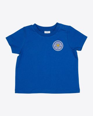 Leicester City Baby/Toddler Blue T-shirt
