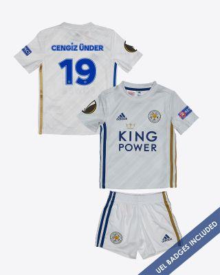 Cengiz Ünder - Leicester City Away Shirt 2020/21 - Mini Kit UEL
