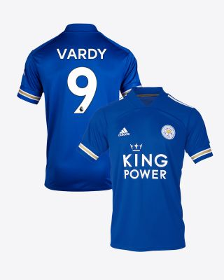 Jamie Vardy - Leicester City King Power Home Shirt 2020/21