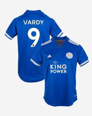 Jamie Vardy - Leicester City King Power Home Shirt 2020/21 - Womens
