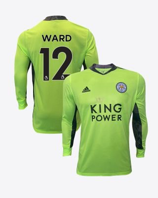 Danny Ward - Leicester City King Power L/S Goalkeeper Shirt Green 2020/21