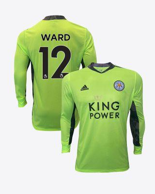 Danny Ward - Leicester City King Power Goalkeeper Shirt Green 2020/21 - Kids