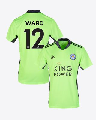 Danny Ward - Leicester City King Power S/S Goalkeeper Shirt Green 2020/21