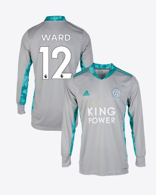 Danny Ward - Leicester City King Power Goalkeeper Shirt Grey 2020/21 - Kids