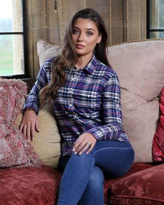 Fox & Crop Womens Check Shirt