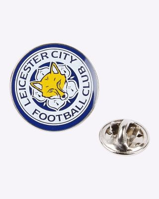 LCFC Colour Crest Pin Badge