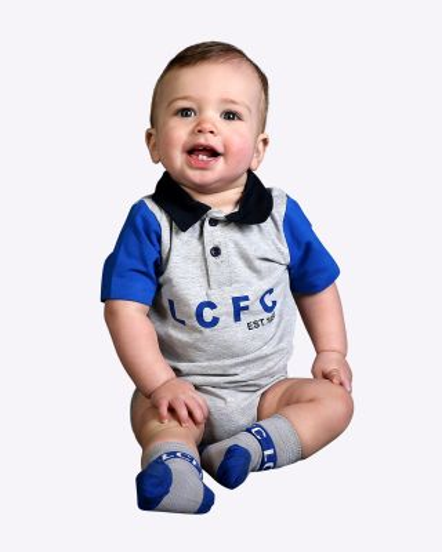 LCFC Baby Blue/Grey Vest