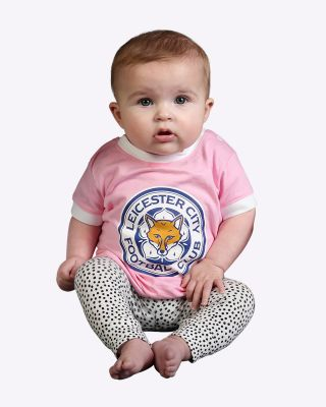 LCFC Baby/Toddler Pink Crest Tee