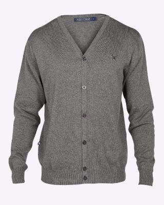 Fox & Crop Mens Fine Knit Cardigan