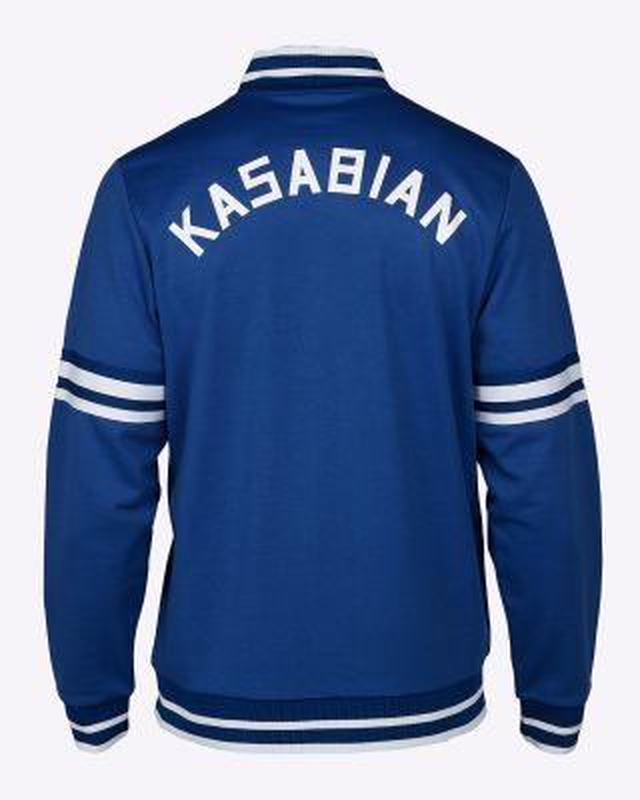 Kasabian Retro Track Top Blue