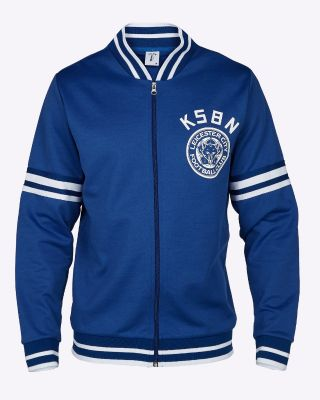 Kasabian Retro Track Top Blue