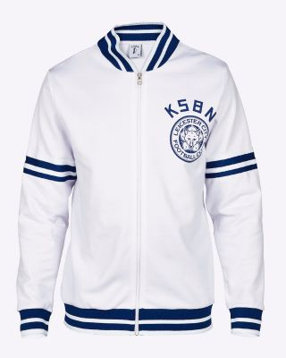 Kasabian Retro Track Top White