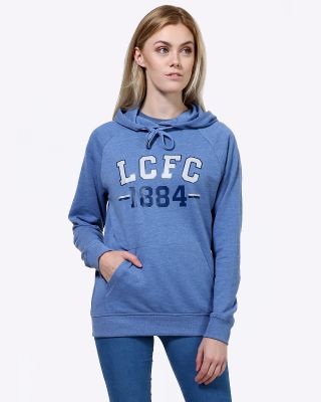 LCFC Womens Blue Hoody