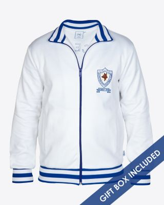 LCFC Retro Track Jacket White