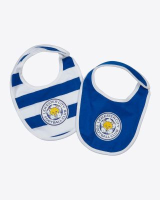 LCFC Blue Twin Pack Bibs