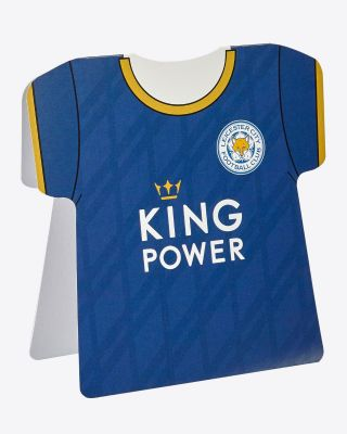 LCFC Shirt Greetings Card