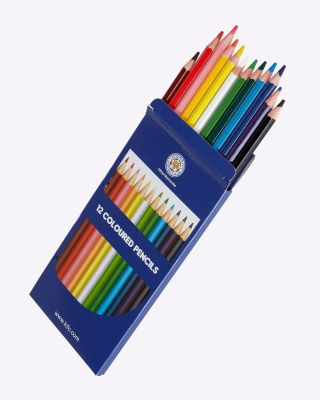 LCFC Boxed Colouring Pencils