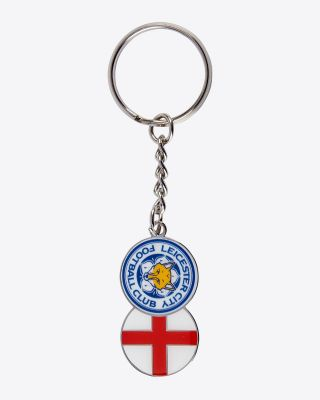 LCFC Club & Country Keyring