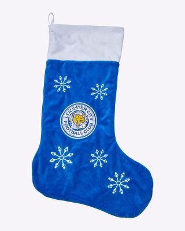 LCFC Christmas stocking