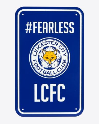 LCFC Parking Sign