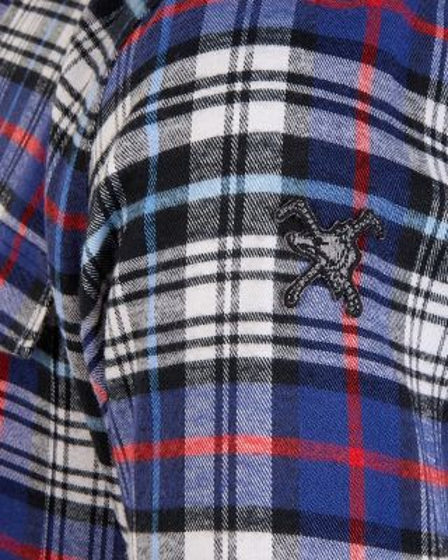 Fox & Crop Womens Check Shirt