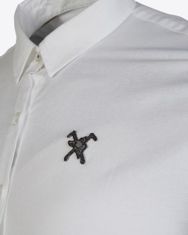 Fox & Crop Womens White Shirt