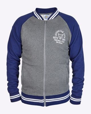 LCFC Mens Baseball Jacket The Foxes