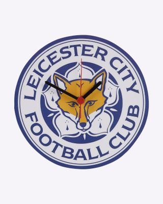 LCFC Crest Shaped Clock