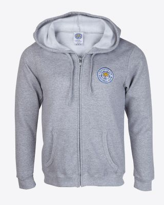 LCFC Womens Essential Grey Hoody