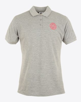 LCFC Womens Polo Heather Grey