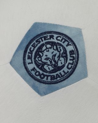 LCFC White/Blue Plush Ball