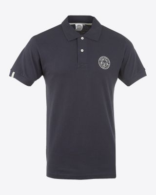 LCFC Mens Navy Essential Polo