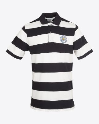 LCFC Striped Polo