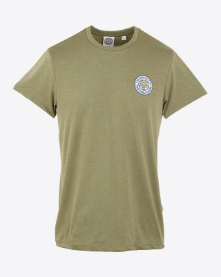 LCFC Mens Khaki Heather Tee