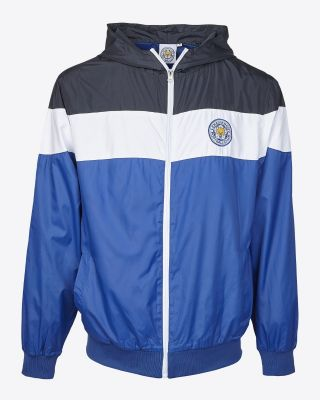 LCFC Mens Block Colour Rain Jacket