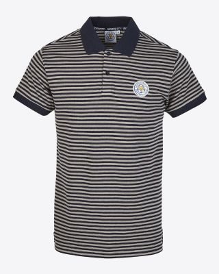LCFC Mens Striped Polo