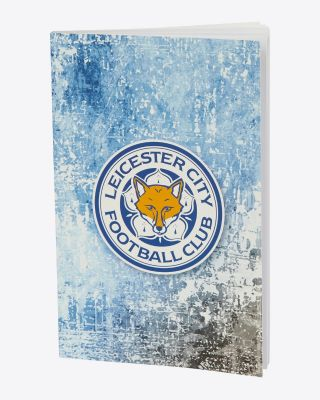 LCFC Grunge Note Book - Large