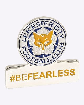 LCFC #BEFEARLESS Pin Badge