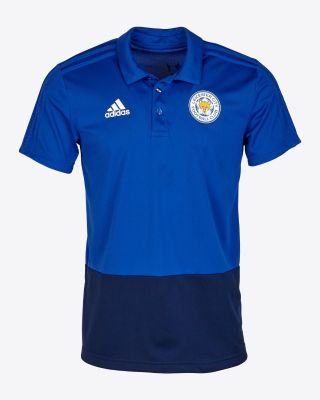 Adidas Adult's Training Polo - Blue