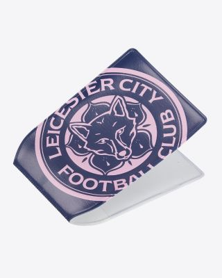 LCFC PVC Pink/Navy Card Holder
