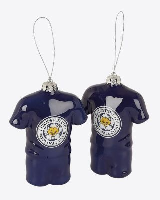 LCFC Shirt Shaped Baubles