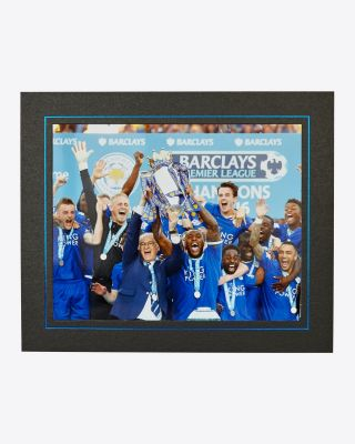 LCFC 15/16 Trophy Lift Photo