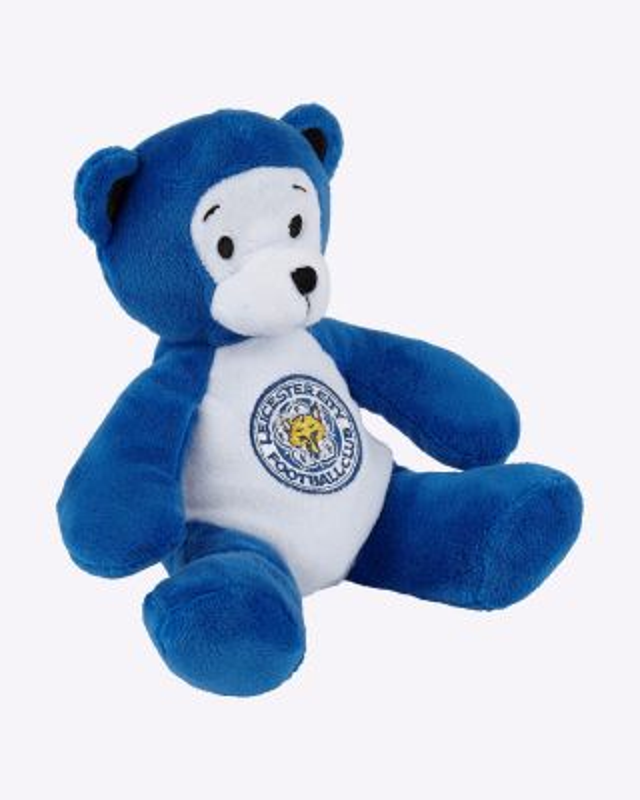 """LCFC Two Tone Beanie Bear 14"""""""
