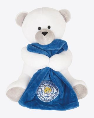 LCFC Beanie Bear With Blanket