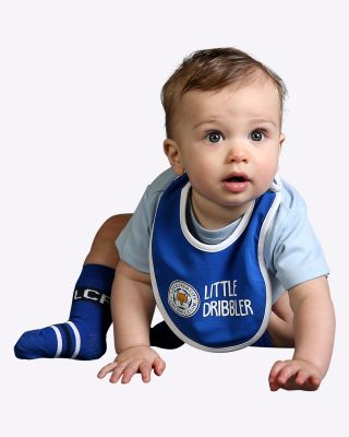 LCFC Blue Little Dribbler Bib
