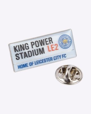 LCFC Street Sign Pin Badge